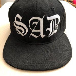 Nikki Lipstick Sad girls club SAD hat